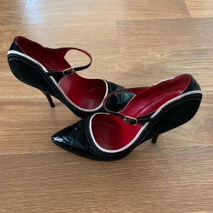 MOSCHINO Black Pump Heels